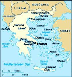 Grecia viaggio di nozze musica per matrimoni mappa grecia altavistaventures Image collections